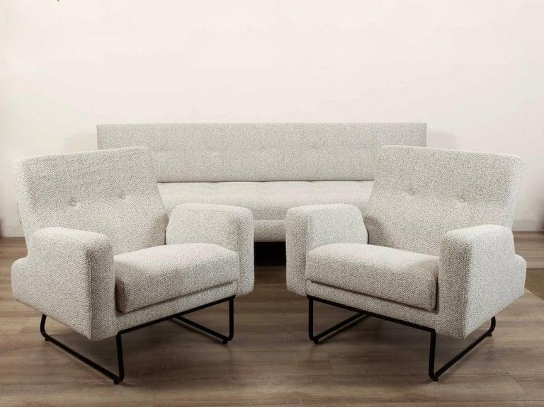 Mid-Century Modern Georges Frydman Living Room Set, EFA France, 1960 For Sale