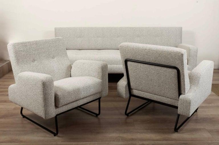 French Georges Frydman Living Room Set, EFA France, 1960 For Sale