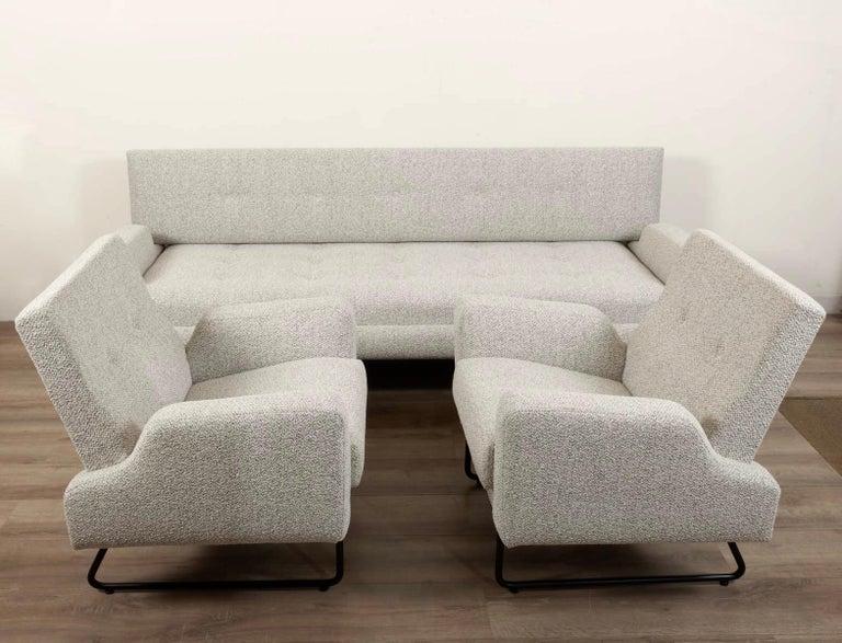Georges Frydman Living Room Set, EFA France, 1960 In Excellent Condition For Sale In Saint-Ouen, FR