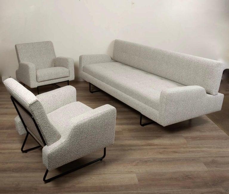 Georges Frydman Living Room Set, EFA France, 1960 For Sale 1
