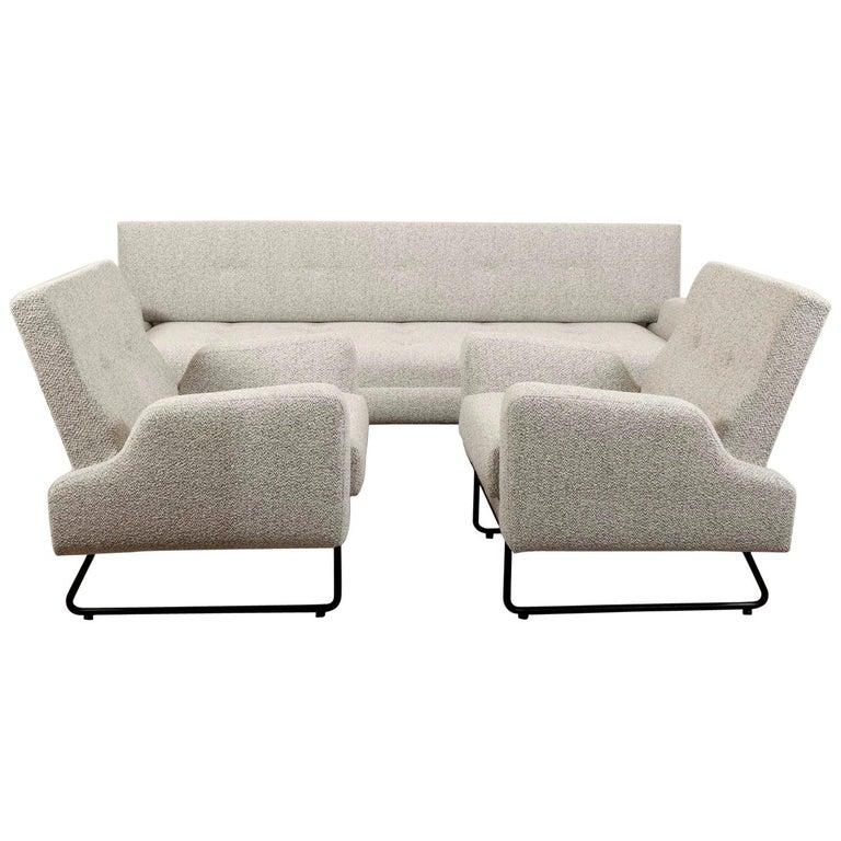 Georges Frydman Living Room Set, EFA France, 1960 For Sale