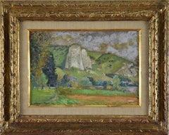 Les Bords de Seine, les Andelys by GEORGES MANZANA PISSARRO - Landscape Painting