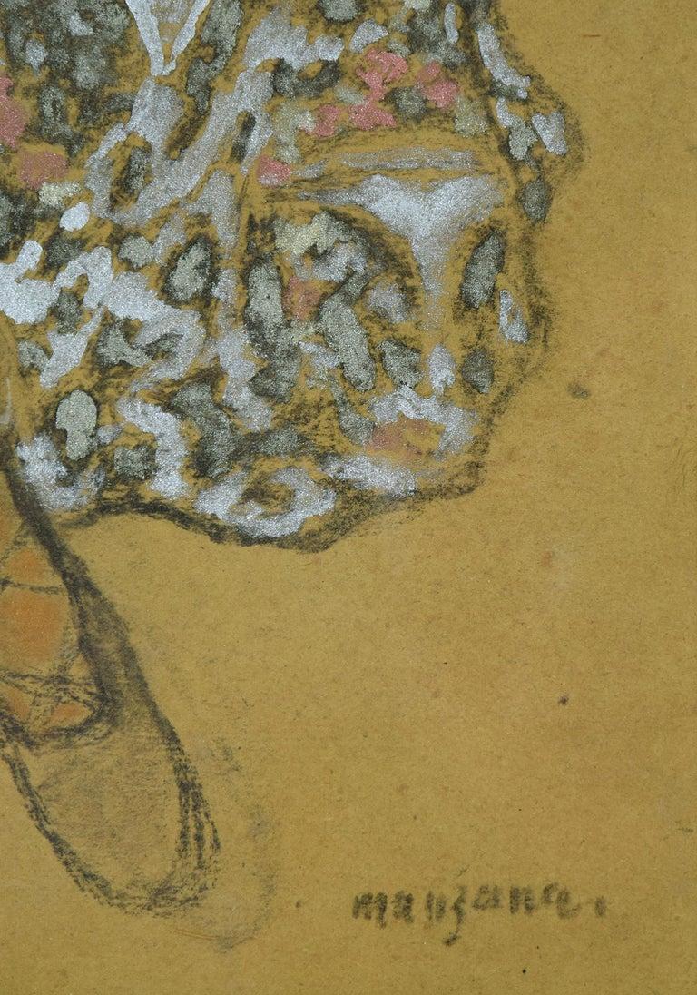 Oriental Dancer by Georges Manzana Pissarro - Post-Impressionist, Orientalist  For Sale 1