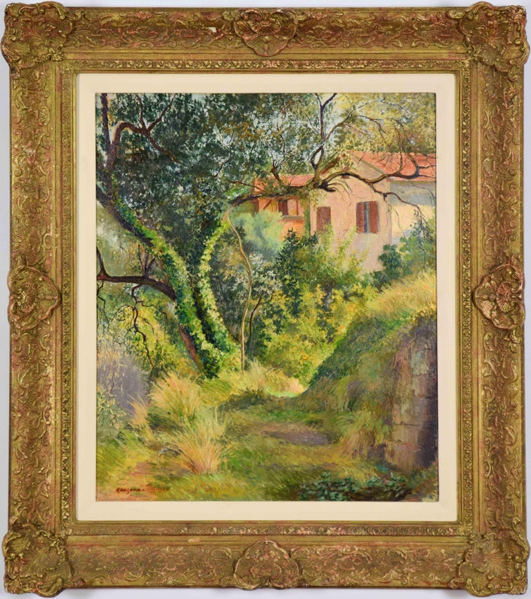Oil on board 55 x 46 cm (21 ⁵/₈ x 18 ¹/₈ inches) Signed lower left, Manzana Pissarro Executed circa 1950s  Provenance Private Collection, France   This work is accompanied by a certificate of authenticity from Lélia Pissarro.    Artist