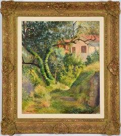 Le Chemin à l'Annonciade (Menton) by Georges Manzana Pissarro