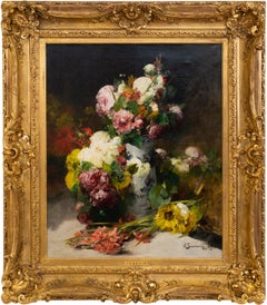 Flowers in Porcelain Vases