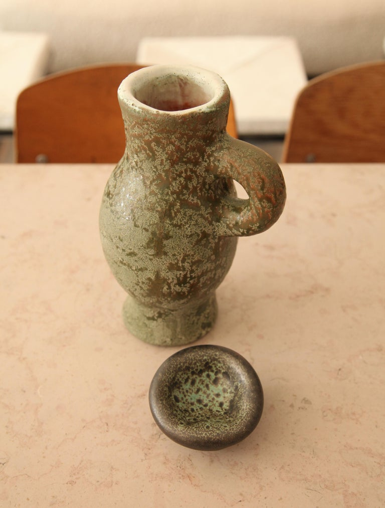 Mid-Century Modern Georges Jouve, Pitcher, circa 1955 For Sale