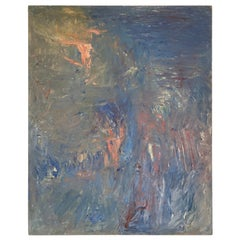 Georges Koskas Oil On Wooden Panel