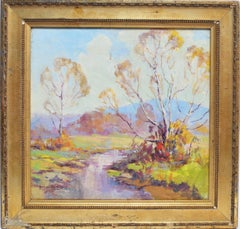 Brown County Impressionist Landscape by Georges La Chance