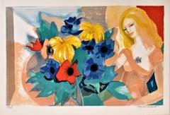 La Femme au Bouquet (Woman with Bouquet)