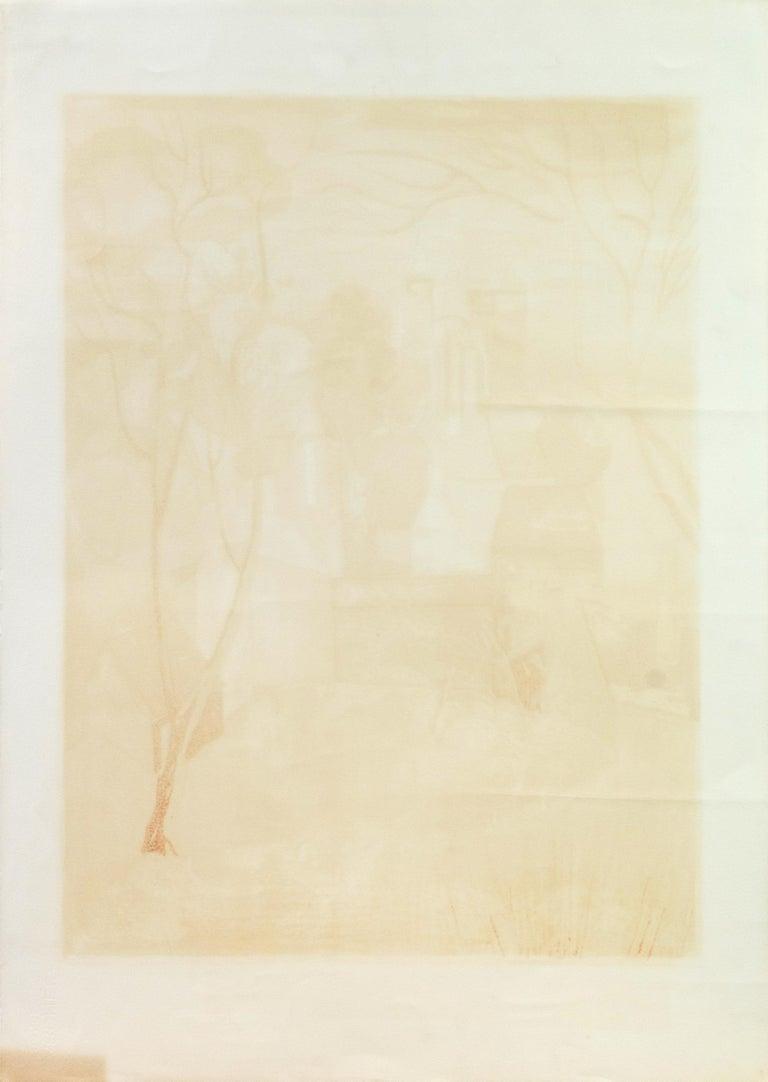 'Provençal Landscape', Academie Chaumiere, Salon des Artistes Francaises, Paris For Sale 5