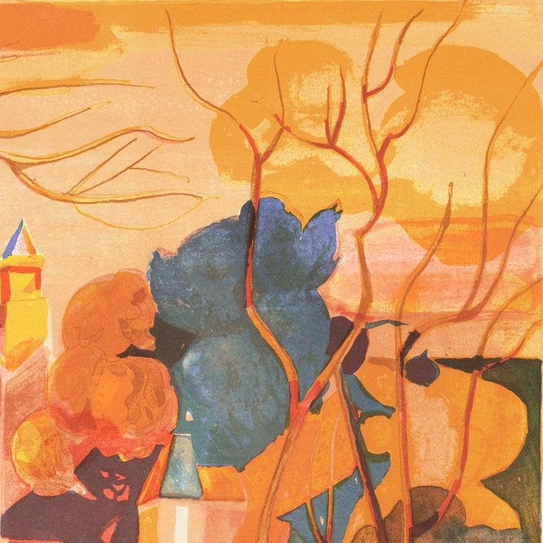 'Provençal Landscape', Academie Chaumiere, Salon des Artistes Francaises, Paris For Sale 1