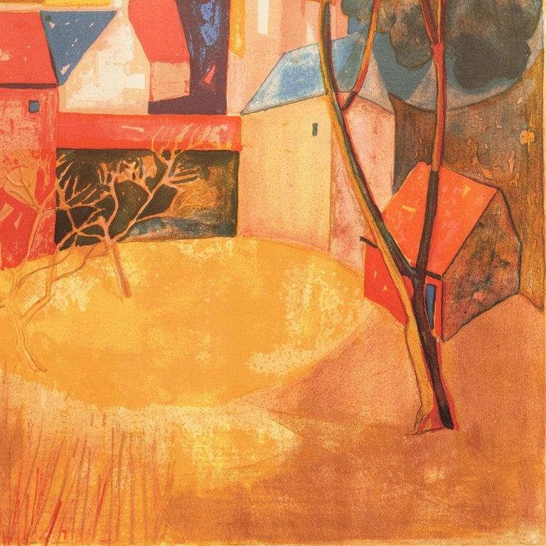 'Provençal Landscape', Academie Chaumiere, Salon des Artistes Francaises, Paris For Sale 2