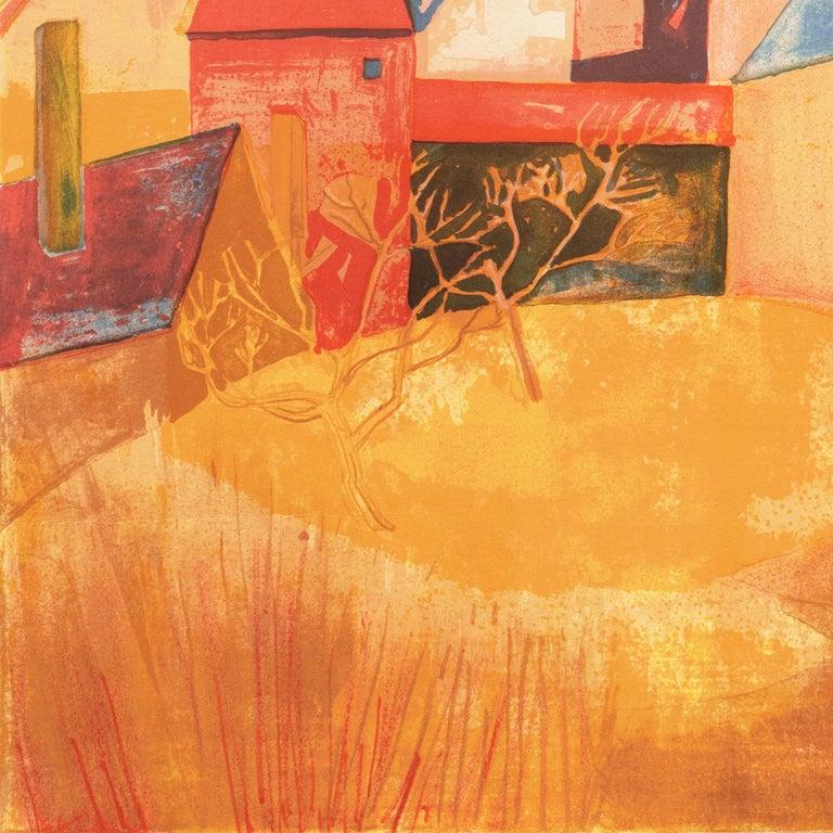 'Provençal Landscape', Academie Chaumiere, Salon des Artistes Francaises, Paris For Sale 3