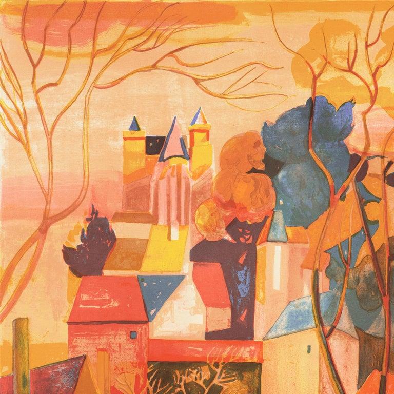 'Provençal Landscape', Academie Chaumiere, Salon des Artistes Francaises, Paris For Sale 4