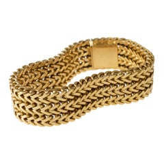 Georges L'Enfant Gold Bracelet