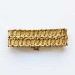 Georges Lenfant Gold Braided Bracelet