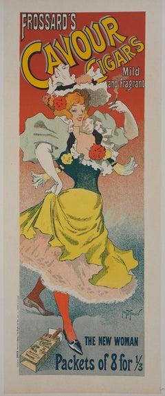 Frossard's Cavour Cigars - Lithograph (Les Maîtres de l'Affiche), 1895
