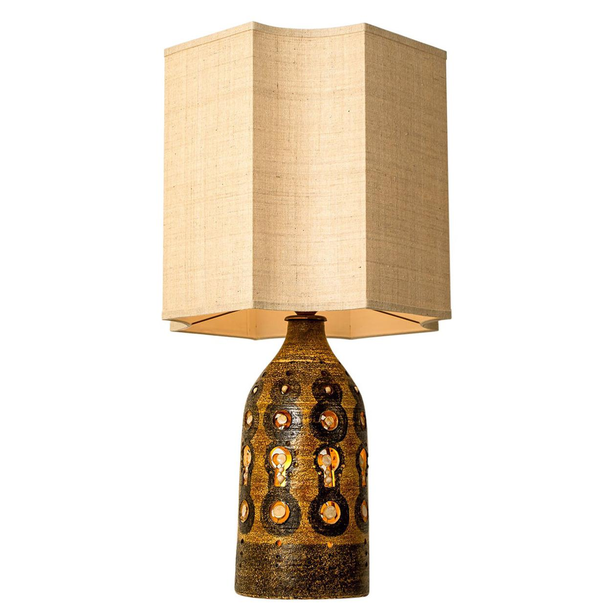Georges Pelletier Table Lamp, circa 1970, France