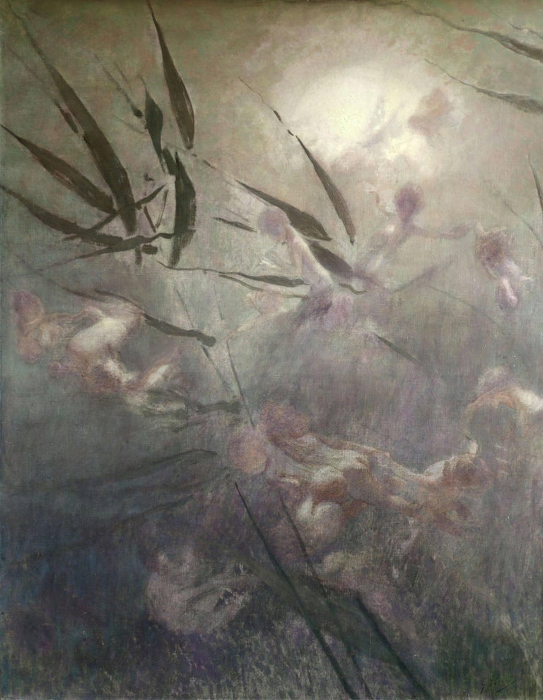 Georges Picard Figurative Painting - Fairies