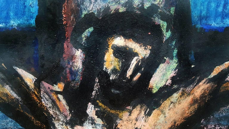 Crucifixion:  from the The Lewisohn Collection - Expressionist Painting by Georges Rouault