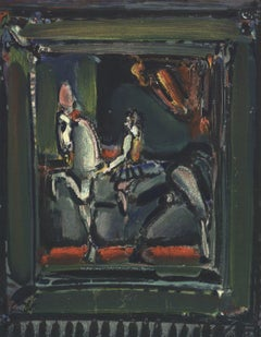 1971 Georges Rouault 'XXe Siecle' Modernism Brown,Green,Gray,Multicolor,Black Li