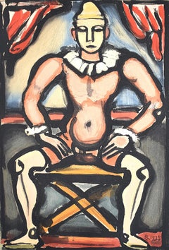Child of the Ball, from: Circus of the Shooting Star -  French Expressionism
