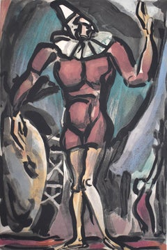 Clown with the Big Chest, from: Circus- French Circus Expressionism