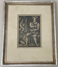"Georges Rouault ""Dance of Salome"" Original Lithograph C.1932"