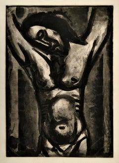 Jesus Sera en Agonie Jusqu'a la Fin Du Monde - Original Etching by G. Rouault
