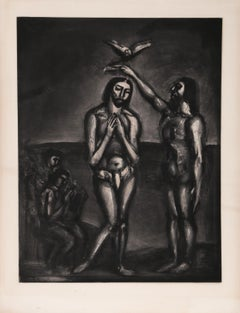 Know ye Not... from Miserere, Aquatint by Georges Rouault 1927