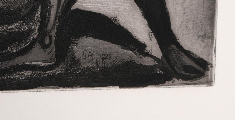 Les Amants from Le Reincarnations du Pere Ubu - Print by Georges Rouault