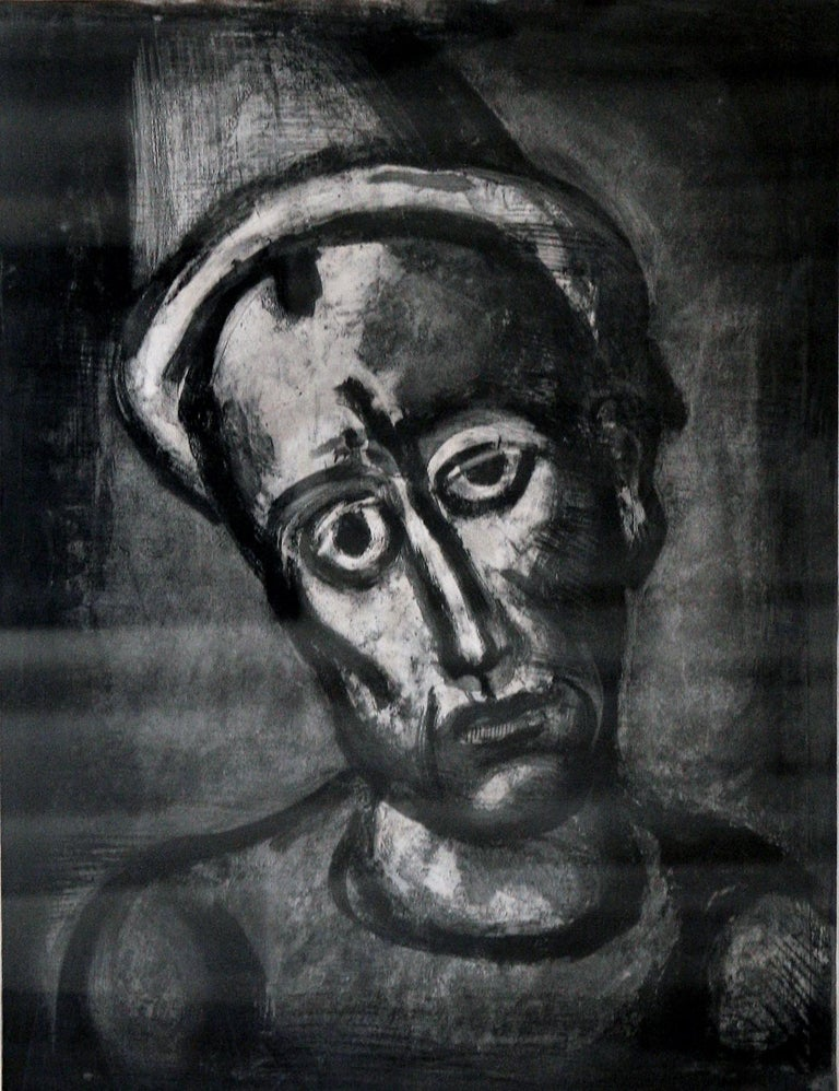 Qui ne se Grime Pas?(Who Does Not Wear a Mask?) - Print by Georges Rouault
