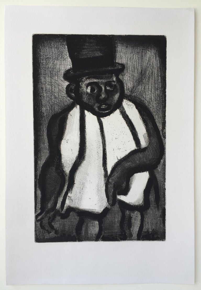 THE GOOD CANDIDATE - from Reincarnations - Pere Ubu - Print by Georges Rouault