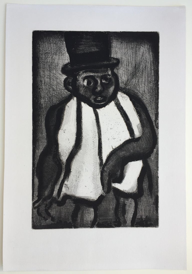 THE GOOD CANDIDATE - from Reincarnations - Pere Ubu - Modern Print by Georges Rouault