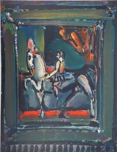 The Horse Rider - Original lithograph, Mourlot
