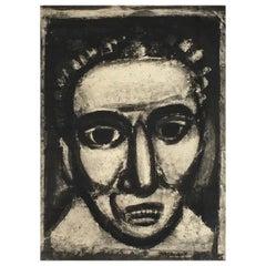 Georges Rouault - Satan III, 1926 - Engraving