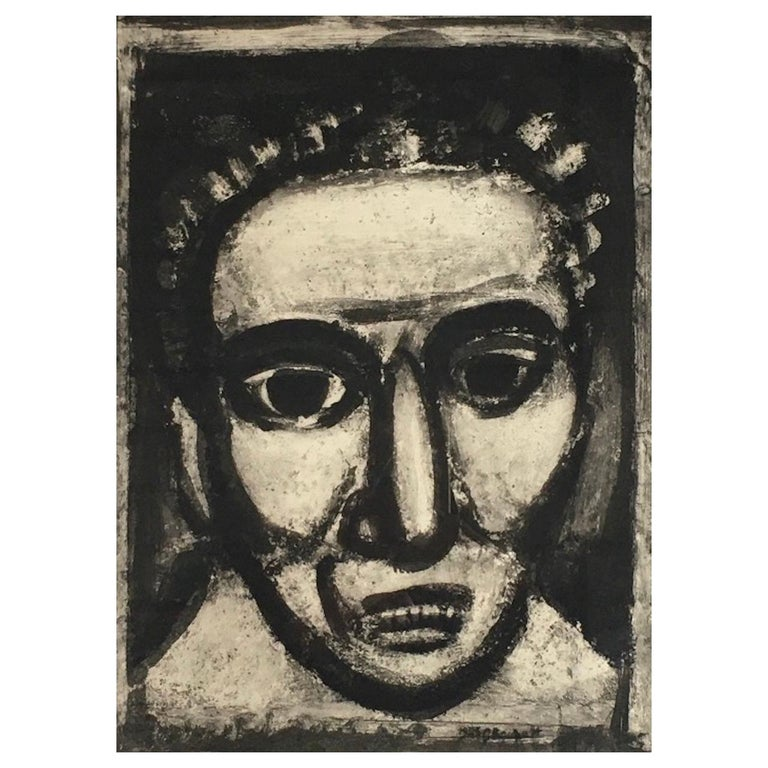 Georges Rouault - Satan III, 1926 - Engraving For Sale