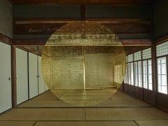 Architecture, construction, golden shape, Japan