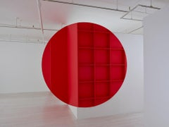 New York, Installation, Architecture, Red, Construction