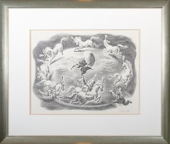'Circular Motion' original lithograph signed by Georges Schreiber
