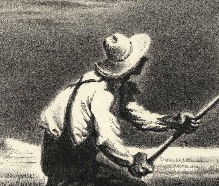 Haying - Print by Georges Schreiber