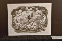 """WPA  AAA """"Circular Motion"""" 12 x 16 Lithograph, 1936, signed in pencil"""