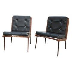 Georges Tigien Pair of Chairs, France, 1960s
