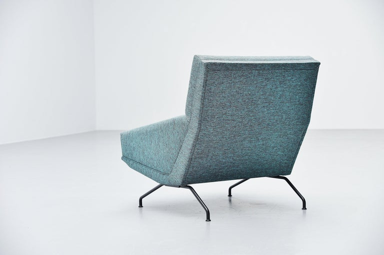 Mid-20th Century Georges van Rijck Lounge Chairs Beaufort Belgium 1960 For Sale