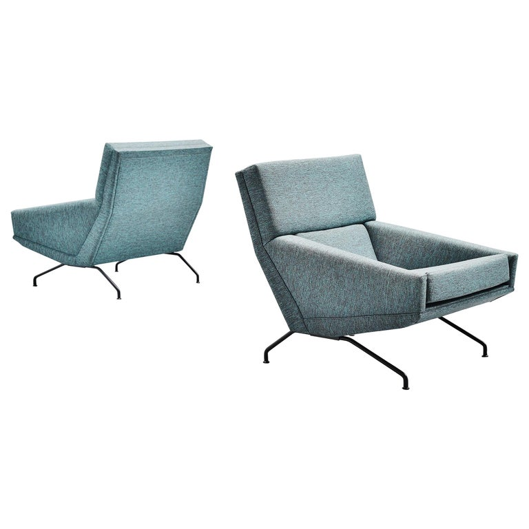 Georges van Rijck Lounge Chairs Beaufort Belgium 1960 For Sale
