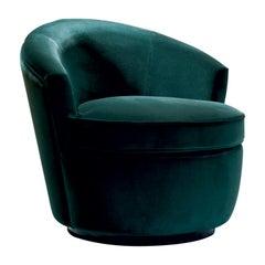 Georgette Green Armchair by Dom Edizioni