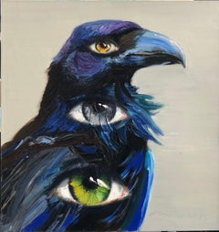 Crow: Contemporary Oil Painting