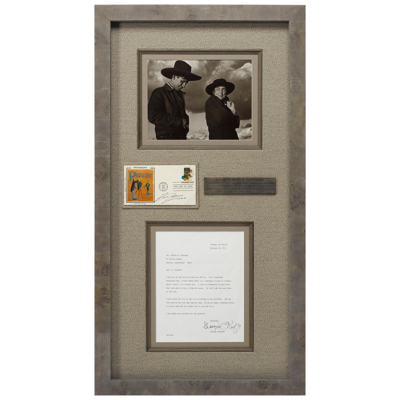 Georgia O'Keeffe and Ansel Adams Signatures
