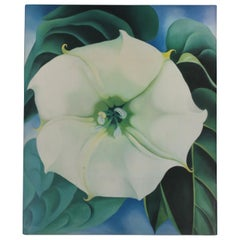 Georgia O'Keeffe, 'One Hundred Flowers', Coffee Table or Library Book ca. 1980s